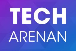 Techarenan logo sociala medier
