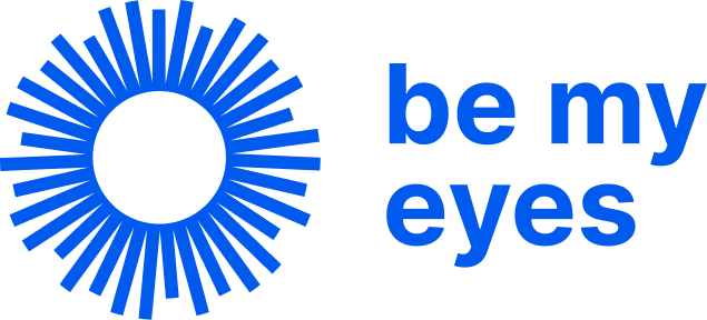 Be My Eyesblue-logo