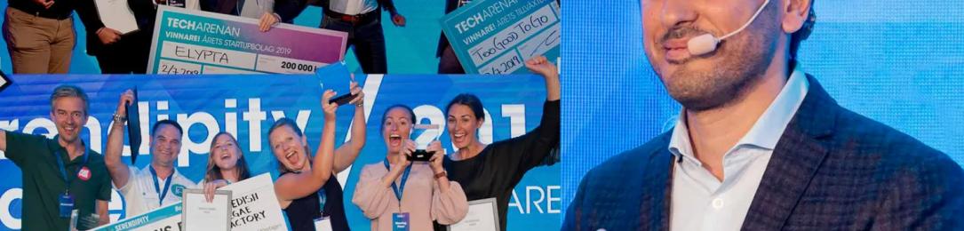 """Omid Ekhlasi, grundare Techarenan; """"Årets tävling är den viktigaste hittills"""""""